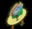 Diner Sign Tree