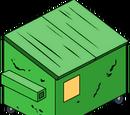 Dumpster (green)