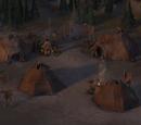 Campamento humano