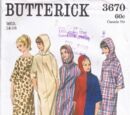 Butterick 3670 A