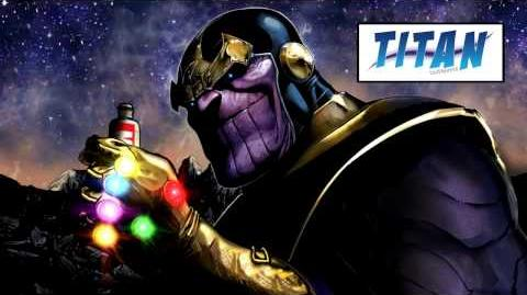Infinity 1 Thanos with Toothpaste - Marvel AR