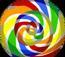 Rainbow Lollipop