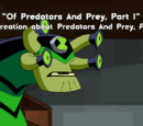 """Of Predators And Prey, Part 1"" A Recreation about Predators and Prey, Part 1"""