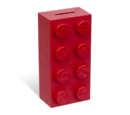 853144 Tirelire en forme de brique 2 x 4