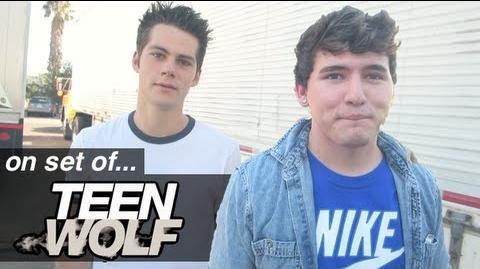 Meeting TEEN WOLF Cast!!!