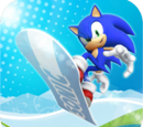 Sonic at the Olympic Winter Games images