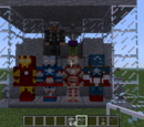 Superheroes in Minecraft