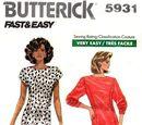 Butterick 5931