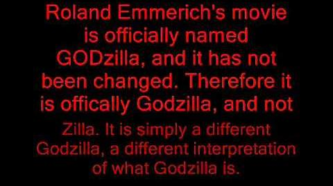 American Godzilla Is Not Zilla!!!!!