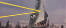 Gamera - 5 - vs Guiron - 10 - Space Gyaos Fires A Beam and Guiron Reflects It With His Blade-for-a-face.png