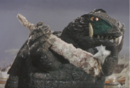 Gamera - 5 - vs Guiron - 26 - Gamera deflects a shuriken.png