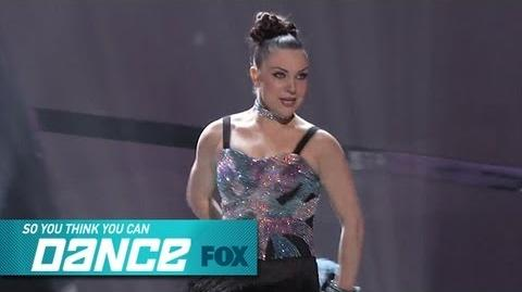 Jenna Top 8 Perform SO YOU THINK YOU CAN DANCE FOX BROADCASTING