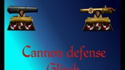 Cannon Defense Glitch