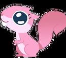 Esquilo Rosa