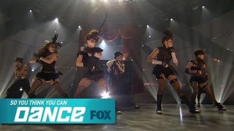 Group Performance Top 8 Perform SO YOU THINK YOU CAN DANCE FOX BROADCASTING