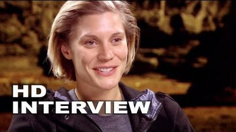 "Riddick Katee Sackhoff ""Dahl"" On Set Interview"