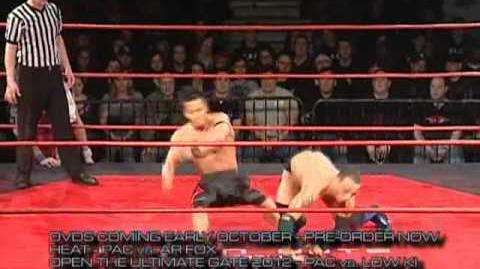 Masato Yoshino and PAC vs. Naruki Doi and Ricochet