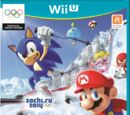 Mario & Sonic at the Sochi 2014 Olympic Winter Games box artwork