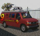 "Anchor News Van ""Canal 9"" (Saints Row)"