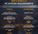 Awyman13/Battlefield 4 PC System Requirements
