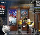 5002891 The LEGO Movie Mini Poster Sticker