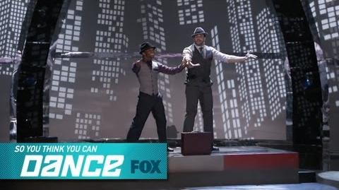 Aaron & Fik-Shun Top 4 Perform SO YOU THINK YOU CAN DANCE FOX BROADCASTING