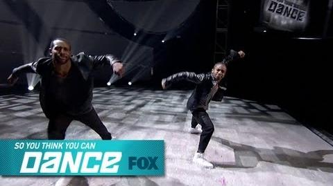 Fik-Shun & tWitch Top 4 Perform SO YOU THINK YOU CAN DANCE FOX BROADCASTING