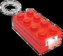 5002471 Brique porte-clés lumineuse 2x4 (rouge)