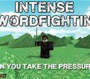 Intense Sword Fighting