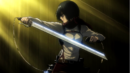 Mikasa ready to battle Annie one more time.png