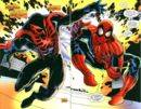 Miguel O'Hara (Earth-928) and Peter Parker (Earth-616) from Spider-Man 2099 Meets Spider-Man Vol 1 1 0001.jpeg