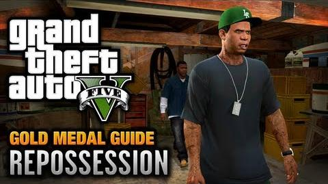 GTA 5 - Mission 2 - Repossession 100% Gold Medal Walkthrough-0