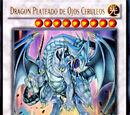 Dragón Plateado de Ojos Cerúleos