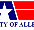 Flag of Allen, Texas