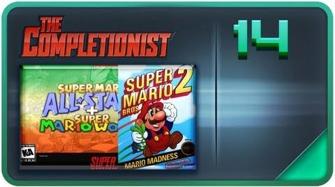 All Starred Up Ep.1 Super Mario Brothers 2...wait what? The Completionist