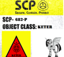 SCP-682-P