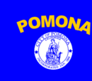 Flag of Pomona, California