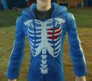 Skeletal Hoodie