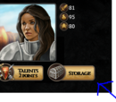 Rhaenys Blackfyre/How to Make Item Permanent
