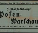 Niemiecka reprezentacja piłkarska Poznania podczas II wojny światowej