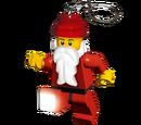 5002468 Porte-clés lumineux Père Noël