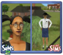 SimValley Sims from The Sims (console)