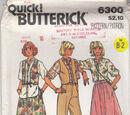 Butterick 6300 B