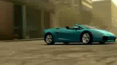 Midnight Club LA » Lamborghini Gallardo Spyder