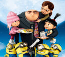 Characters hailing from the Despicable Me Universe