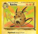 Raichu (Fósil 14 TCG)