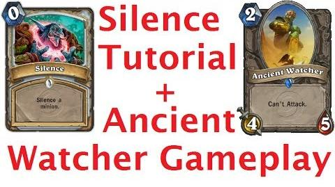 Silence Tutorial Ancient Watcher Gameplay