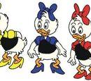 Έηπριλ, Μαίυ και Τζουν Ντακ