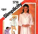 Simplicity 5738 B