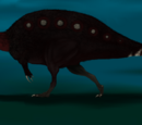 Theropods with fatty hump or sail on their back